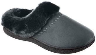 Isotoner Velour Womens Clog Slippers