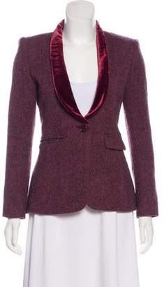 Smythe Structured Wool Blazer