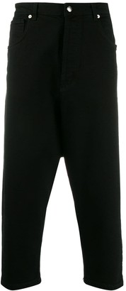 Societe Anonyme cropped drop-crotch jeans