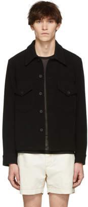 Our Legacy Black Melton Loan Jacket