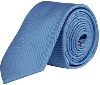 Burton Mens Blue Tie