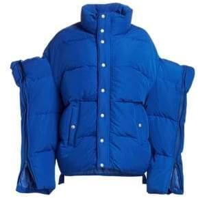 Junya Watanabe Cape Sleeve Puffer Jacket