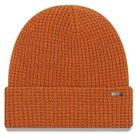 New Era Hats Waffle Beanie in Orange