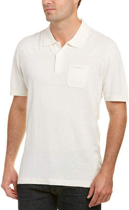 Robert Graham Classic Fit Noble Savage Linen-Blend Polo