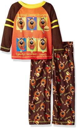 Scooby-Doo SGI Apparel Little Boys' 2-Pc Pajama Set, Long Sleeve Top with Pant