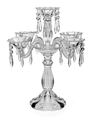 Godinger Wellington 5-Arm Crystal Candelabra