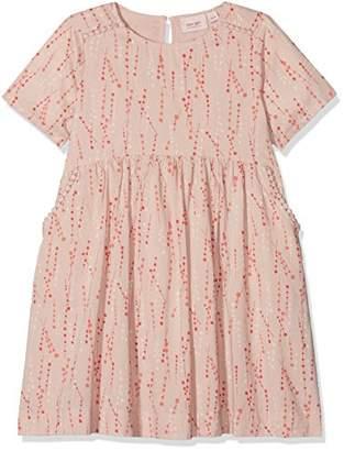 Mini A Ture Noa Noa Miniature Girl's Short Sleeve,Knee Length Dress