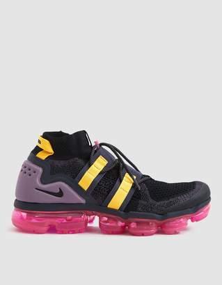 Nike VaporMax Flyknit Utility Sneaker in Black / Gridiron