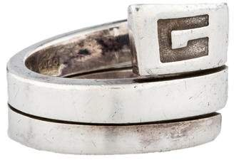 Gucci Wrapped Band Ring