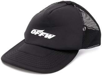 Off-White wing logo trucker cap