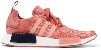 adidas Nmd_r1 Suede-paneled Primeknit Sneakers - Pink