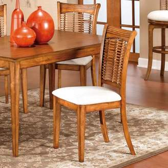 Hillsdale Furniture Bayberry Dining Chairs, Set of 2, Oak Finish