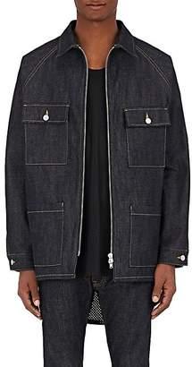 Fear Of God Men's Oversized Denim Jacket - Blue Size Xl