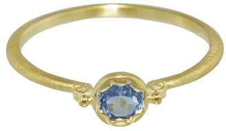 Megan Thorne Lottie Sapphire Stacking Ring - Yellow Gold