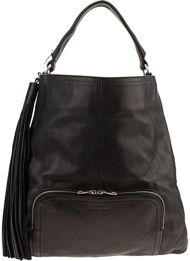 Givenchy Ombre Tassel Messenger Bag - Black