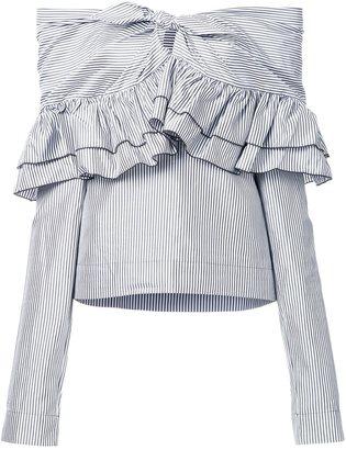 Isa Arfen 'Domino Stripe' blouse