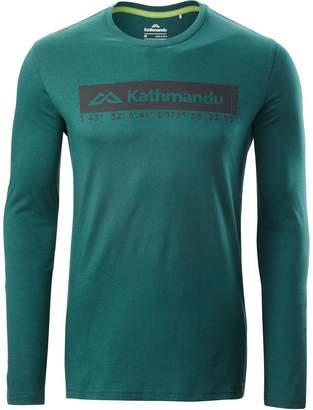 Kathmandu Coordinates Mens Long Sleeve T-Shirt