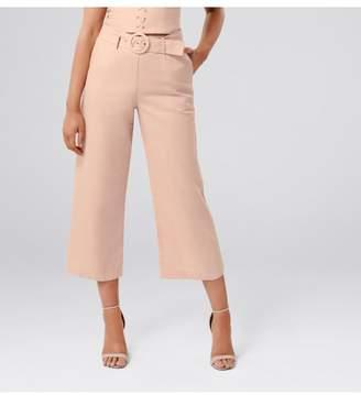 Ever New Elise Petite Linen Blend Pants