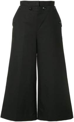 MSGM cropped culotte trousers