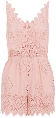 Seafolly Broderie Anglaise Playsuit