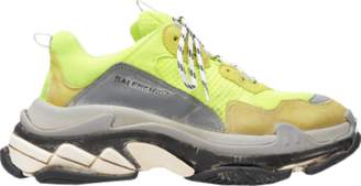 Balenciaga Triple S Neon Yellow (2018 Reissue)
