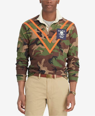Polo Ralph Lauren Men's Camouflage Rugby Classic Fit Polo Shirt