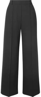 Beaufille - Moneta Stretch-twill Wide-leg Pants - Black