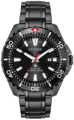 Citizen Mens Black Bracelet Watch-Bn0195-54e