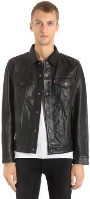 Levi's The Trucker Leather Jacket
