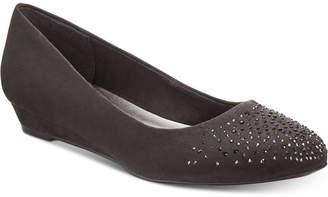 Karen Scott Crystul Wedge Flats, Women Shoes