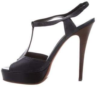 Saint Laurent Platform High-Heel Sandals