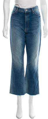 Mother High- Rise Straight- Leg Jeans