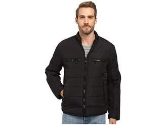 Andrew Marc Belknap Quilted Moto Jacket Men's Coat