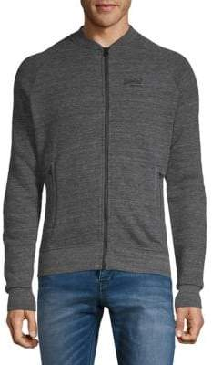 Superdry Heathered Bomber Jacket