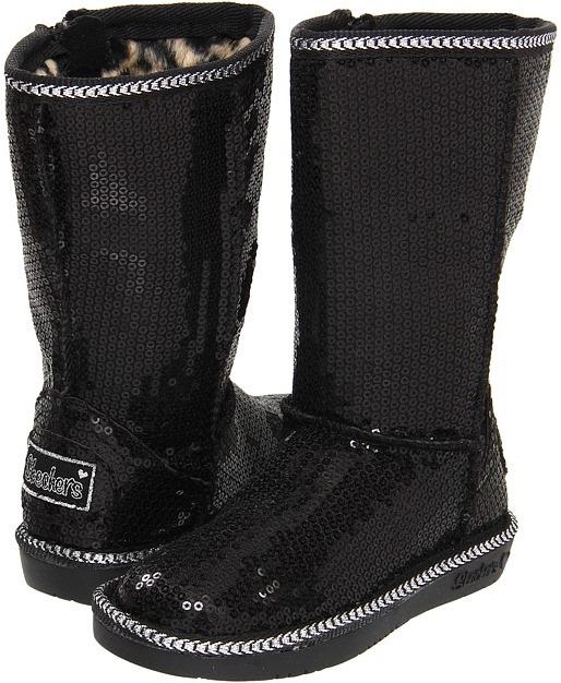 Skechers Glamslam (Infant/Toddler) (Black) - Footwear