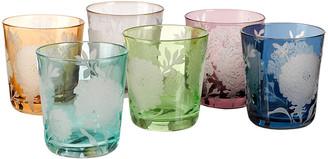 Pols Potten Peony Glass Tumblers