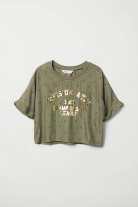 H&M Short Top - Green
