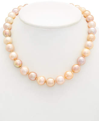 Honora Silver 12-14Mm Pearl Necklace