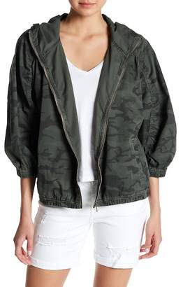 SUPPLIES BY UNION BAY Audrina Camo Twill Hooded Jacket