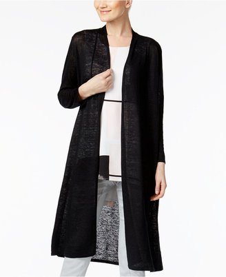 Alfani Linen Duster Cardigan, Only at Macy's $79.50 thestylecure.com