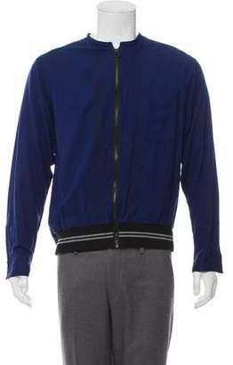 Lanvin Zip-Up Shirt Jacket
