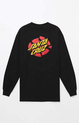 Santa Cruz Broken Dot Long Sleeve T-Shirt