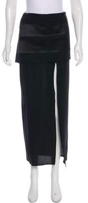 Givenchy Silk Midi Skirt
