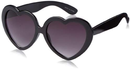 MLC Eyewear Women's Heart Shape Sunglasses Shield Sunglasses