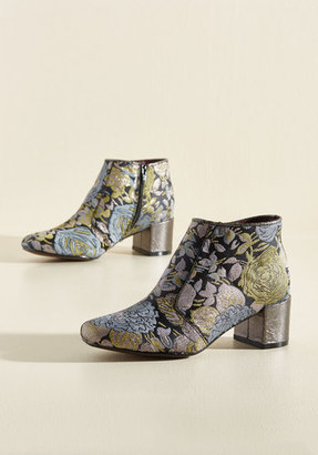 Poetic Licence You Grew My Mind Bootie in Floral $128.99 thestylecure.com