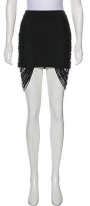 Haute Hippie Bodycon Mini Skirt Black Bodycon Mini Skirt