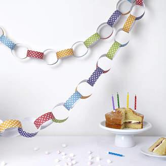 Altered Chic Polka Dot Paper Chain Kit