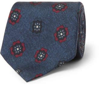 Loro Piana 7cm Printed Silk Tie