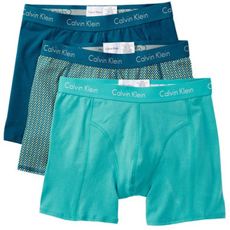 Calvin Klein Boxer Brief - Pack of 3 $37.50 thestylecure.com