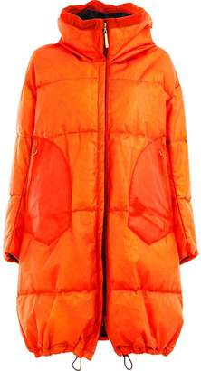 Isaac Sellam Experience leather padded coat